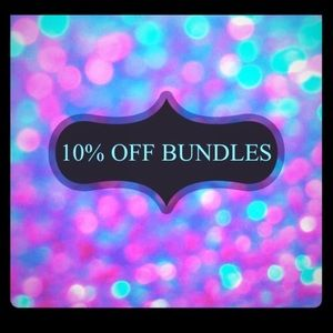 10% off with bundles of 2 or more!
